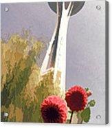 Seattle Needle One Acrylic Print