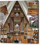 Seattle Organ  Acrylic Print