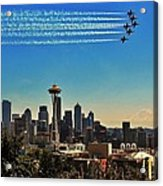Seattle Seafair Acrylic Print