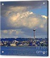 Seattle Skyline 2 Acrylic Print