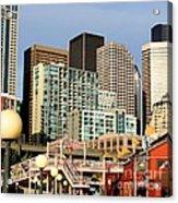 Seattle Skyline. Acrylic Print