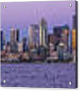 Seattle Skyline Panorama - Massive Acrylic Print