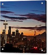 Seattle Sunrise Acrylic Print