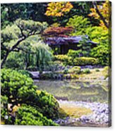 Seattle Tea Garden Acrylic Print