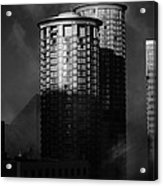 Seattle Towers Acrylic Print by Paul Bartoszek