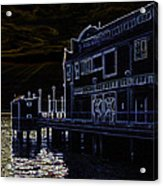 Seattle Waterfont Acrylic Print