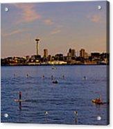 Seattle Waterfront 2 Acrylic Print