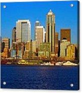 Seattle Waterfront Acrylic Print
