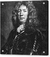 Sebastien De Vauban (1633-1707) Acrylic Print