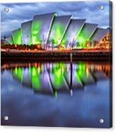 Secc Glasgow Scotland Acrylic Print