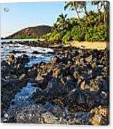 Secluded Beach Acrylic Print