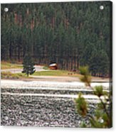 Secluded Cabin Acrylic Print