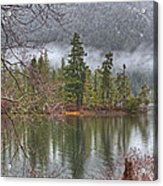 Secluded Cove Acrylic Print