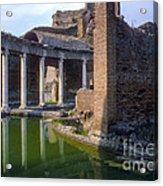 Second Century Villa Of Emperor Hadrian  Acrylic Print
