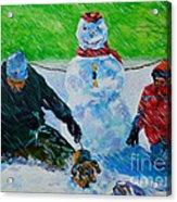 Second Snow Acrylic Print
