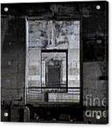 Second World War Submarine Base Acrylic Print