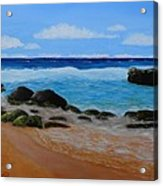 Secret Beach Acrylic Print