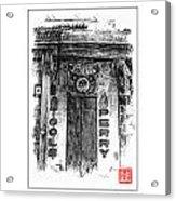 Secret Bison Club Acrylic Print