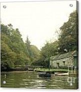 Secret Boathouse Acrylic Print