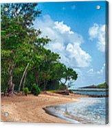 Secret Island Beach Acrylic Print