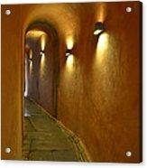 Secret Passageway In Lyon France Acrylic Print