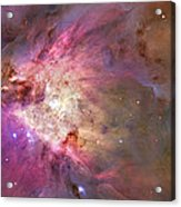 Secrets Of Orion Acrylic Print