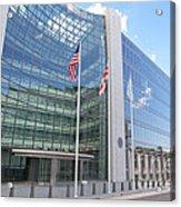 Securities Exchange Commission  Acrylic Print