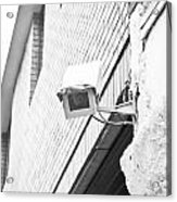 Security Camera Acrylic Print