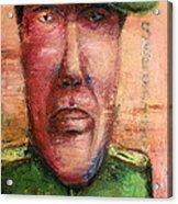 Security Guard - 2012 Acrylic Print by Nalidsa Sukprasert