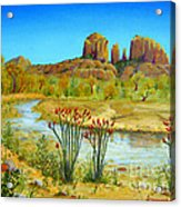 Sedona Arizona Acrylic Print by Jerome Stumphauzer