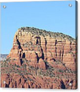 Sedona  Arizona  Mountain  Three Acrylic Print