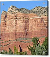 Sedona  Arizona  Mountain  Two Acrylic Print
