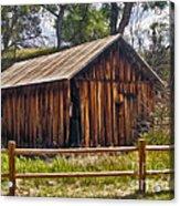 Sedona Arizona Old Barn Acrylic Print