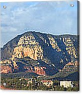 Sedona Arizona Panoramic Acrylic Print by Mike McGlothlen