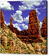 Sedona Arizona Red Rock Secret Mountain Wilderness Acrylic Print