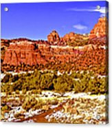 Sedona Arizona Secret Mountain Wilderness Acrylic Print