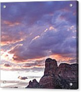 Sedona Arizona Sunset Acrylic Print
