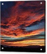 Sedona Az Sunset 1 Acrylic Print