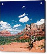 Sedona Desert Scene Acrylic Print