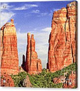 Sedona Red Rock Cathedral Rock State Park Acrylic Print