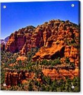 Sedona Rock Formations IIi Acrylic Print