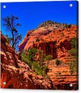 Sedona Rock Formations V Acrylic Print