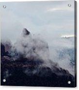 Sedona Rocks In Clouds 030315a Acrylic Print