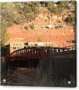 Sedona Steel Bridge Acrylic Print