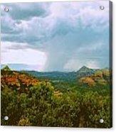 Sedona Storm Acrylic Print
