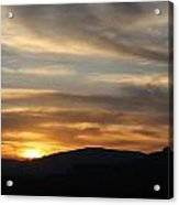 Sedona Sunset May 27 2013 G Acrylic Print