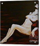 Seduction Acrylic Print by Elena  Constantinescu
