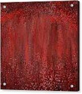 Seductive Embrace- Marsala Art Acrylic Print