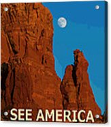 See America - Coconino National Forest Acrylic Print