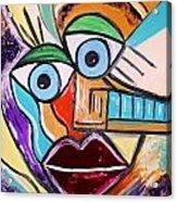 See It Positive Acrylic Print